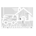 to Your House Oregon Logo White